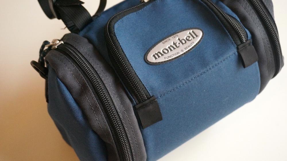 モンベル サイクルフロントバッグ