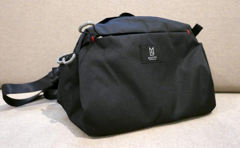 MILESTO(ミレスト)のトロットショルダーバッグSを買いました。山街兼用で使えそう!
